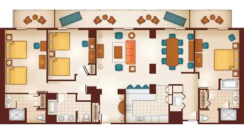 Dvc points for aulani disney vacation club villas - Disney grand californian 2 bedroom suite ...