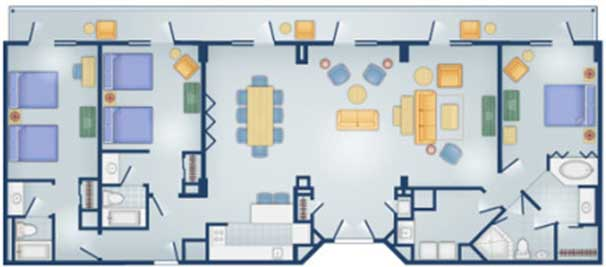 Dvc land offers dvc point for disney boardwalk villas for Disney old key west 3 bedroom villa
