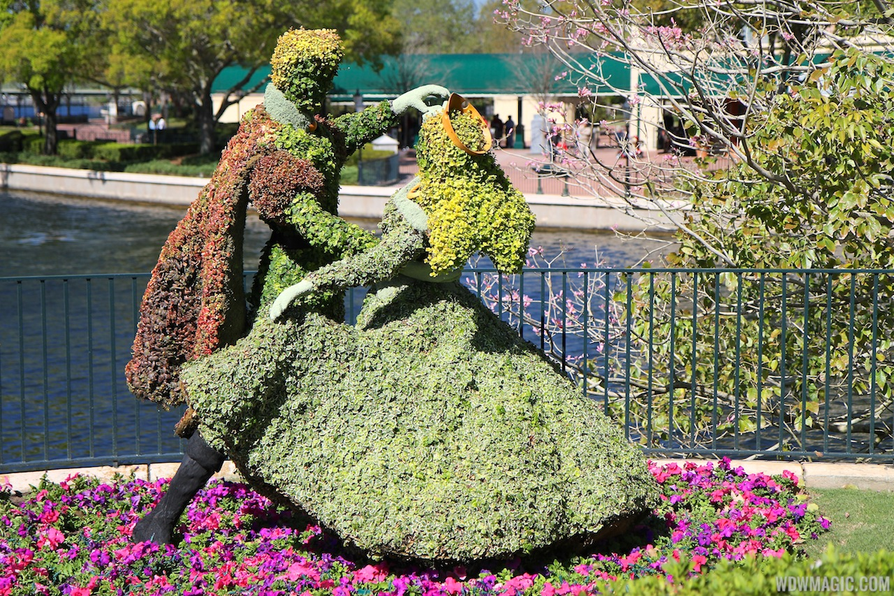 DVC Land Spring Blossoms at the Epcot International Flower and