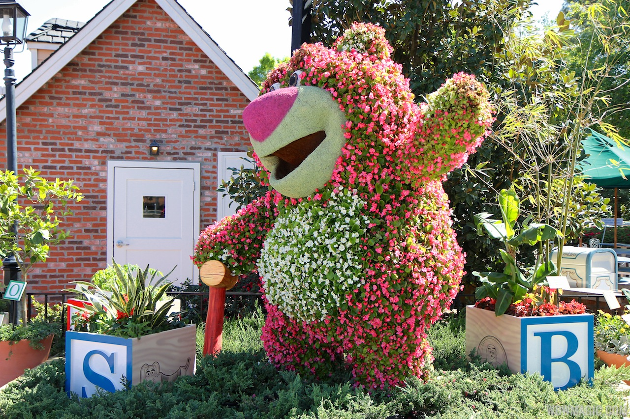 Dvc Land Spring Blossoms At The Epcot International Flower And Garden Festival